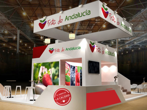 Stand Fruta de Andalucía, Fruit Attraction 2018